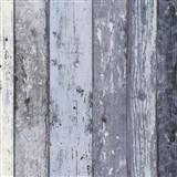Vliesové tapety na stenu Wood'n Stone drevené dosky modré