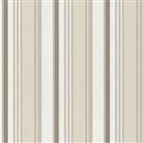 Tapety na stenu Delight - svetle hnedé pruhy