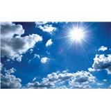 Fototapety modré nebo