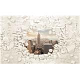Fototapety 3D New York rozmer 368 cm x 254 cm