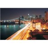 Vliesové fototapety Brooklyn Bridge New York rozmer 312 cm x 219 cm