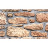 Samolepiace tapety - kamenná stena 67,5 cm x 15 m