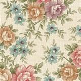 Samolepiace tapety - kvety 67,5 cm x 15 m