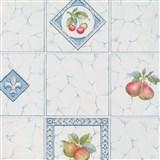Samolepiace tapety - kachličky s ovocím 45 cm x 15 m