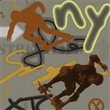 Detské tapety Graffiti - Ltd. Collection - Street Life - sivo-zelená - ZĽAVA