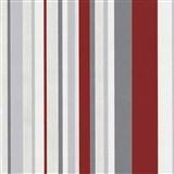 Tapety na stenu Happy Time - pruhy - červené