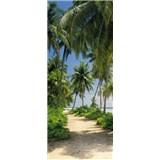 Fototapety palmy na pláži