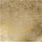 Vliesové tapety na stenu La Veneziana 2 zlatá s metalickým efektom