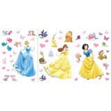 Samolepky na stenu - princezny