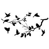 Samolepky na stenu vtáky