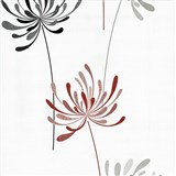 Vliesové tapety na stenu Novara kvety červené