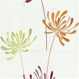 Vliesové tapety na stenu Novara kvety ružové