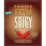 Retro tabule Extra Spicy 40 x 30 cm