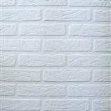 Vinylová tapeta biele tehly ZĽAVA