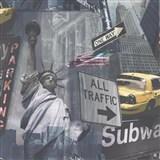 Papierové tapety na stenu New York