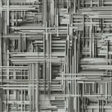 Vliesové tapety na stenu Times 3D modern sivo-strieborné