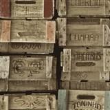Vliesové tapety na stenu Times debny farebné